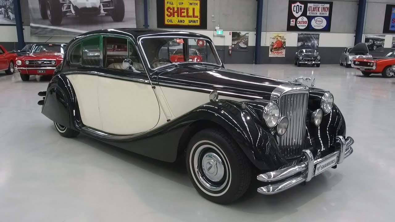 1950 Jaguar MKV 'Modified' Saloon - 2020 Shannons Autumn Timed Online Auction