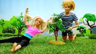 Видео про кукол - Барби и Кен на пикнике - Видео для девочек