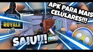 Left!!! Runs!!! FORTNITE MOBILE OFFICIAL FOR MORE INCOMPATIBLES DEVICES!!! APK HACK!!!