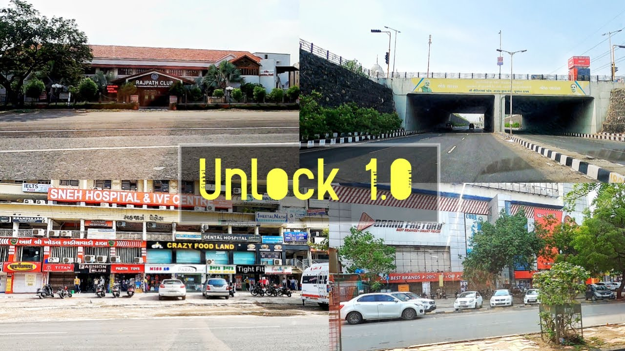 AHMEDABAD IN UNLOCK 1.0 😱