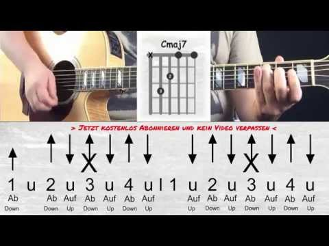 Clueso - Freidrehn - How to play I Akkorde I Chords - Tutorial - Guitar Lesson