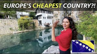 Europe's CHEAPEST Country?! 😱