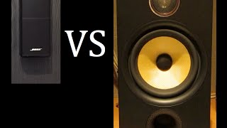 Bose Lifestyle 535 Series 3 Vs. Bowers and Wilkins Speakers