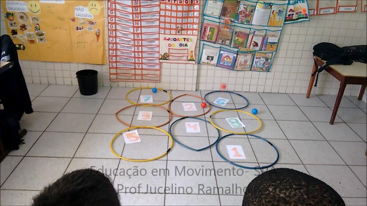 Plano de aula para educação infantil sobre matematica
