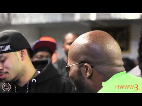 AHAT Rap Battle | Donnie Menace vs Grinda...