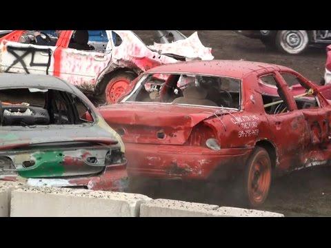 Forest Fair Demolition Derby 2015 | 6 Cylinder