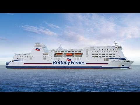 Mont St Michel - Brittany Ferries' Cruise Ferry