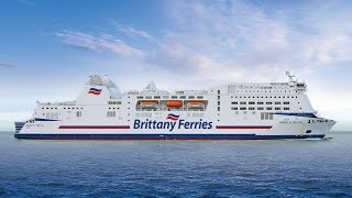 Onboard Mont St Michel - Brittany Ferries