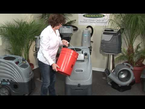 Sandia Products - 100 PSI Sniper 6- And 12-Gallon Carpet Extractor Equipment Training Video