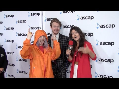 Billie Eilish and Finneas O'Connell Interview 35th Annual ASCAP Pop Music Awards Red Carpet