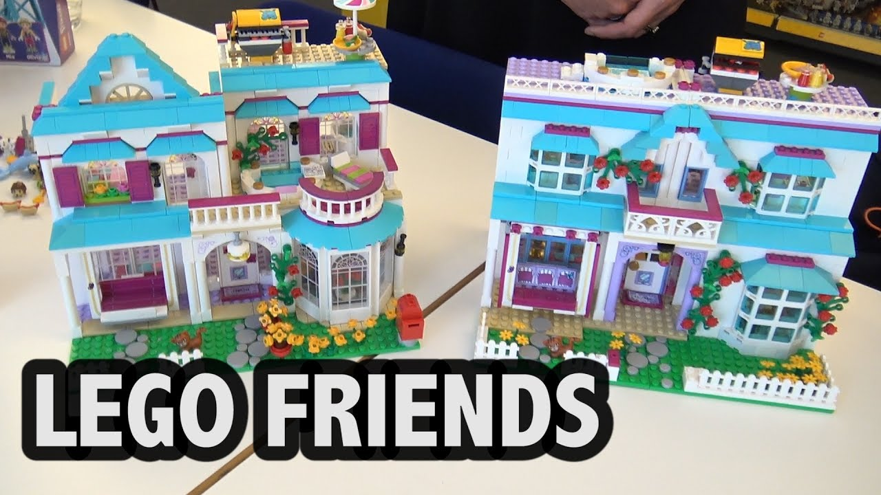 scenes with lego friends