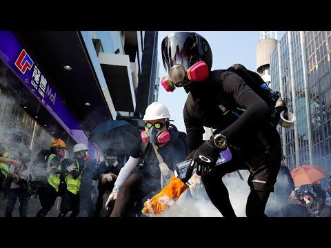 SE LIVE: Protester i Hongkong