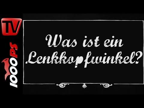Was ist der Lenkkopfwinkel? - Motorrad Lexikon