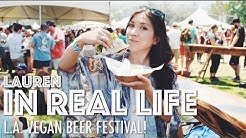 L.A. VEGAN BEER FESTIVAL | Lauren In Real Life