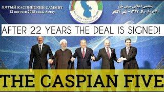 BREAKTHROUGH: Putin Speaks After Landmark Caspian Sea Deal Was Signed by Five Coastal Nations