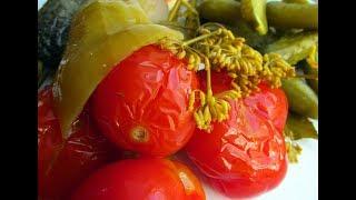 Квашеные помидоры как бочковые - РЕЦЕПТ ПРОСЯТ ВСЕ ГОСТИ!!!