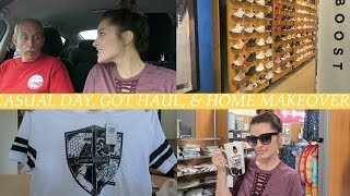 CASUAL DAY, GOT HAUL, & HOME MAKEOVER! | VLOG