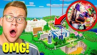 Das HEFTIGSTE REDSTONE HAUS in MINECRAFT gefunden!