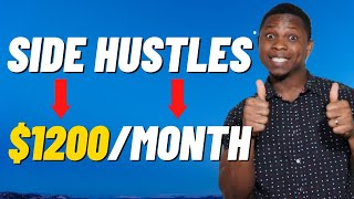 The 7 BEST Side Hustles to Start in 2020 | Make EXTRA MONEY ASAP ($1200 per Month)