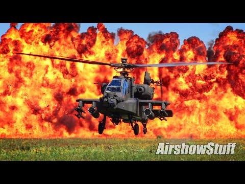 Combined Arms Demonstration - McEntire JNGB Airshow 2017