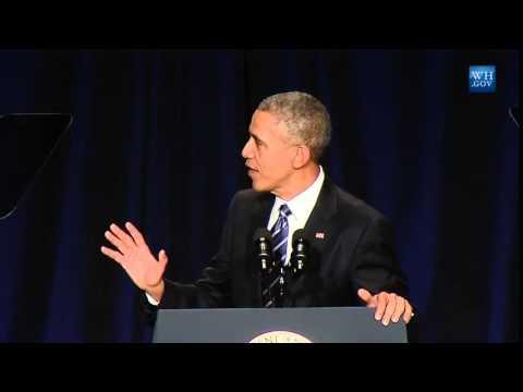 Obama Praises God, Religious Freedom At National Prayer Breakfast 2015 - Full Speech