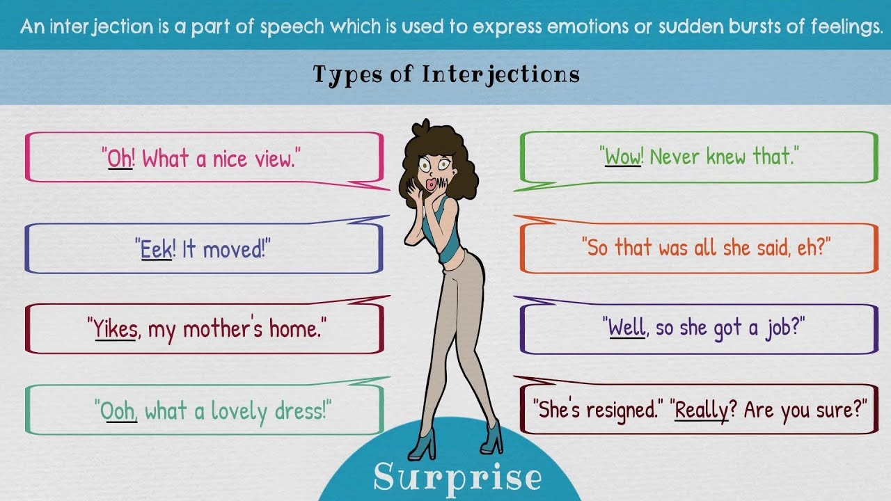 Interjections | list of 60+ interjections and exclamations (with.