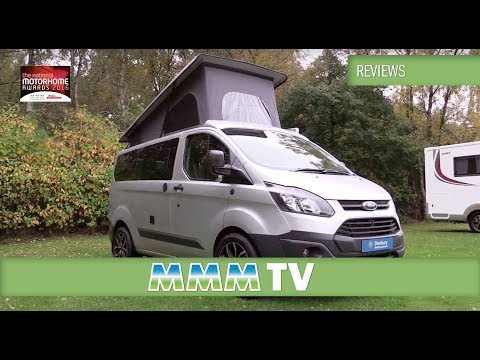 MMM TV motorhome review: Danbury Fun the Campervan of the Year 2016