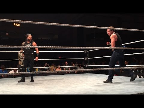 Roman Reigns makes a surprise return at a WWE Live Event: July 22, 2016