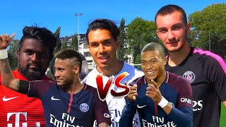 NEYMAR vs MBAPPE FUßBALL CHALLENGE  BROTATOS