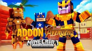 🍀🍀!!EPICO¡¡ Addon De Avengers Infinity Wars Para Minecraft Pe 1.1/1.2🍀🍀