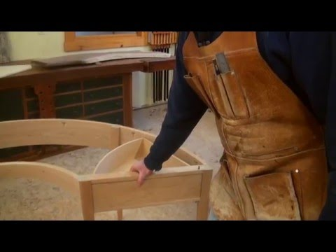Making Half-Round Desk with Tom McLaughlin