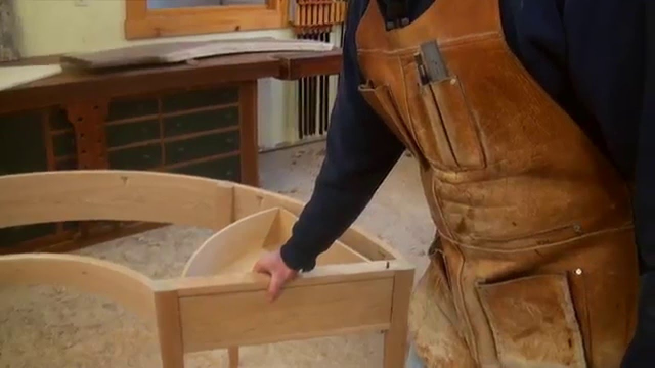 Making Half Round Desk With Tom McLaughlin YouTube
