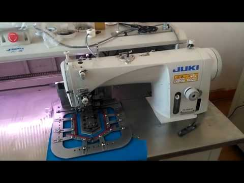 Fully Automatic No Iron Patch Pocket Sewing Machine YouTube Enchanting Sewing Machine For Patches