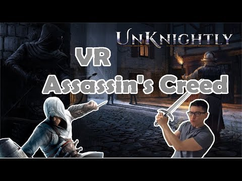 VR Unknightly - Assassin's Creed Stealth And Guards with Sexy Butts - Part 1 thumbnail