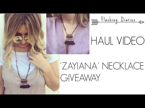 HAUL VIDEO ▼ ZAYIANA GIVEAWAY ▼ Flashing Diaries ▼ (Celebrity shoes, Ths, el.Bags etc.)