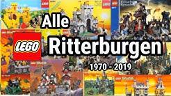 Alle LEGO Ritterburgen! (1970-2019) | Castle, Kingdoms, System | Brickstory