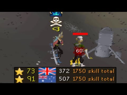 1750+ Total World PKing on a Maxed Zerk
