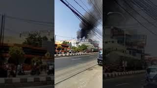 Heboh kebakaran di Rita mall Tegal ..!!
