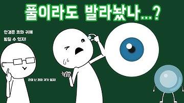 콘택트렌즈는 어떻게 눈동자 위에서 벗어나지 않을까?
