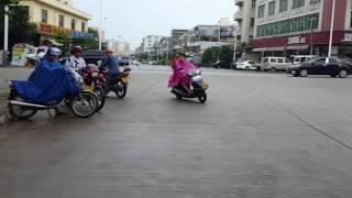 海南瓊海市街景2
