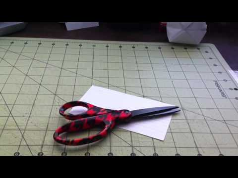 How to make a paper whistle (SUPER LOUD)