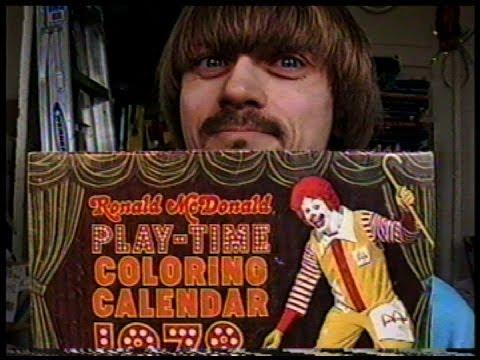 Mcdonald S Calendar Collection Weird Paul Funny