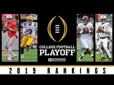Tyson - Penn State No. 4 In First College Football Playoff Ranking Of The Season