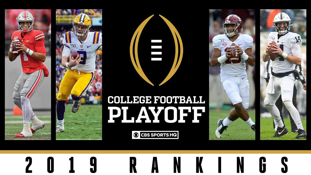 College Football Playoff Rankings: Ohio State opens at No. 1, Penn ...