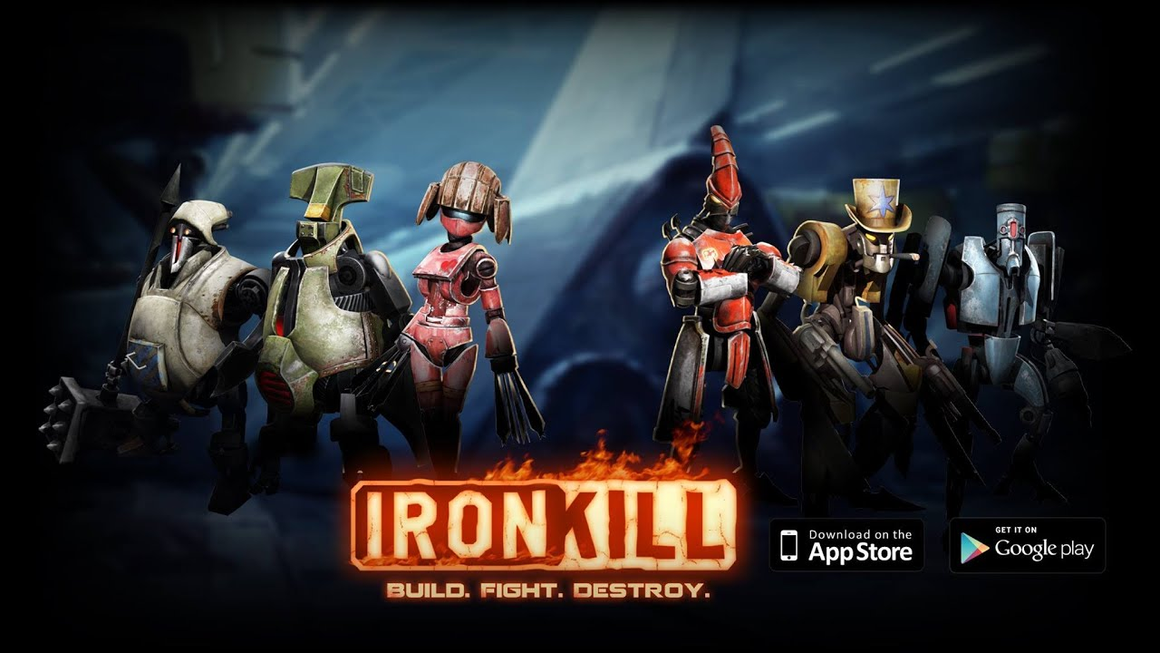 Resultado de imagen de Ironkill Robot Fighting Game