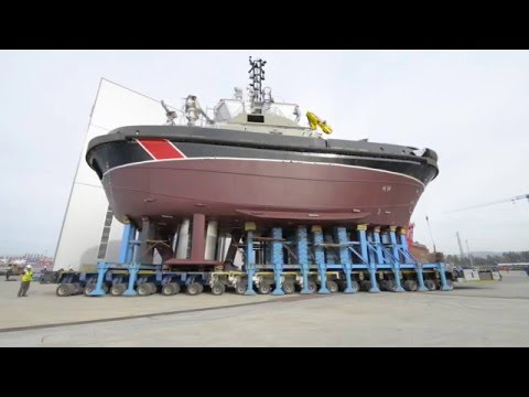 Sanmar Shipyards, Tug on Wheels