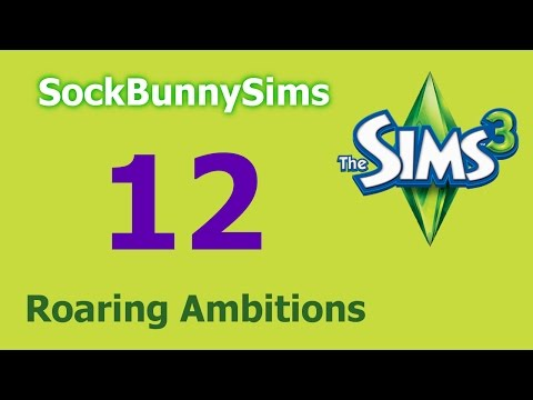 Sims 3 - Roaring Ambitions - Ep 12 - Attack Of The Mutant Plant