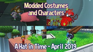 Various Modded Characters and Costumes [April 2019] - A Hat in Time
