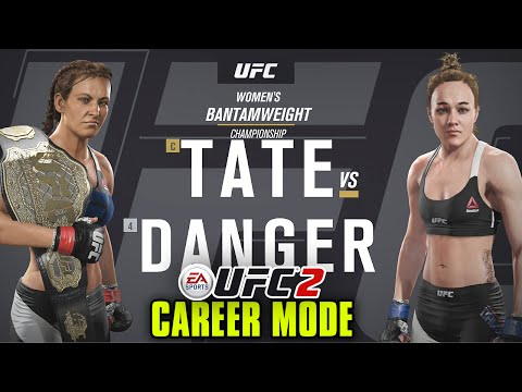 "UFC 2 Career Mode - Ep. 9 - ""CHAMPIONSHIP FIGHT WITH MIESHA TATE!!"" (Series 2)"