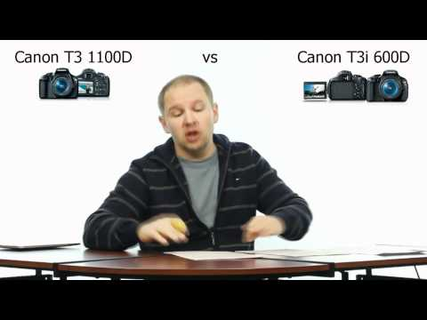 Canon T3 1100D vs T3i 600D - Which One Should I Buy?